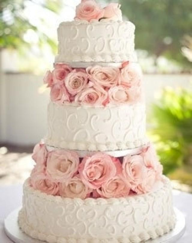 Baby pink and white wedding cakes 5000 simple wedding cakes wedding mightylinksfo Image collections