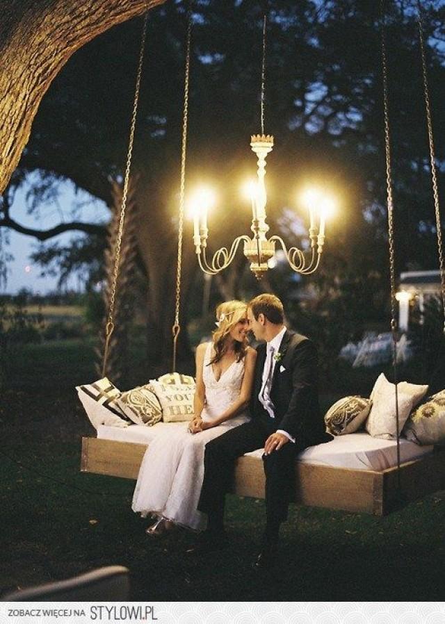 swing wedding romantic photography outdoor backyard weddings sweet weddbook swings