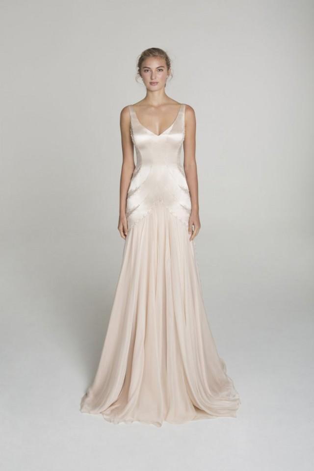 Wedding Dresses Blush Wedding Dress From Alana Aoun