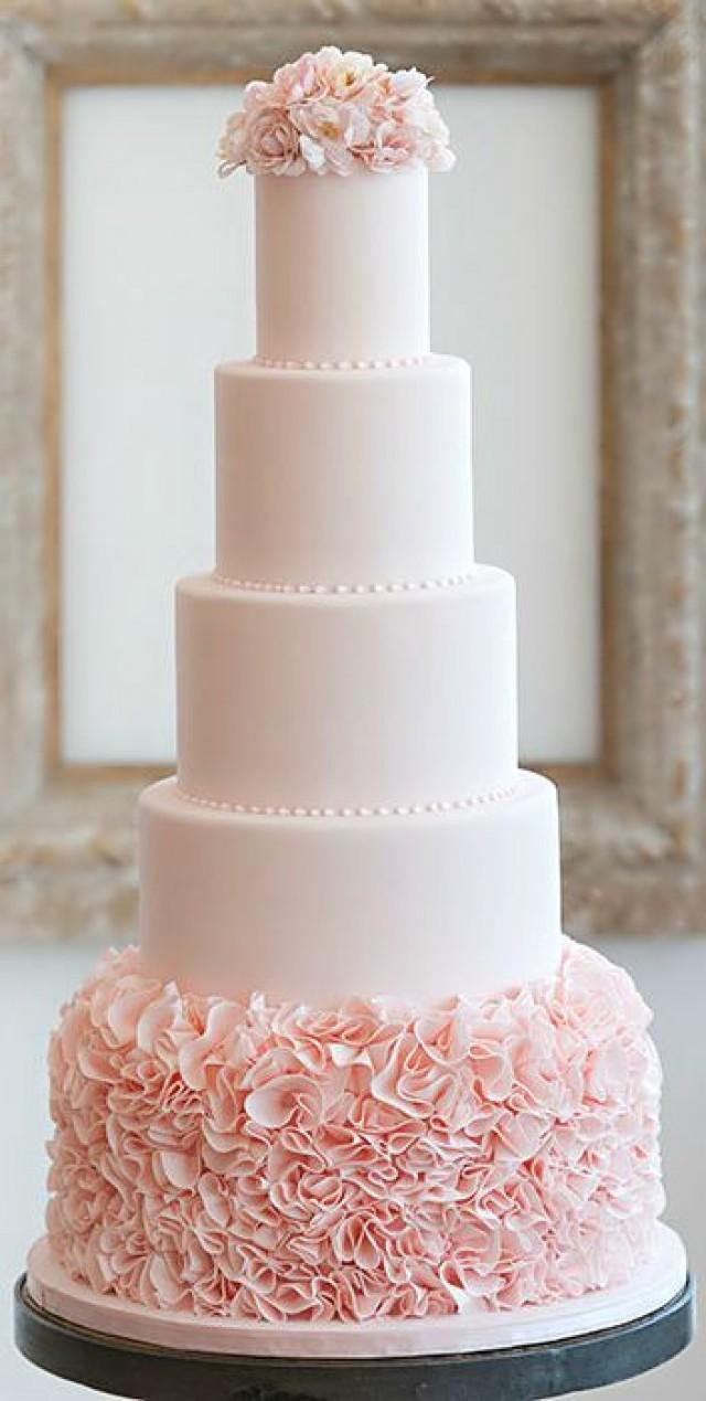 Cake Beautiful Cakes CupCakes II 2071431 Weddbook - Pastel Pink Wedding Cake