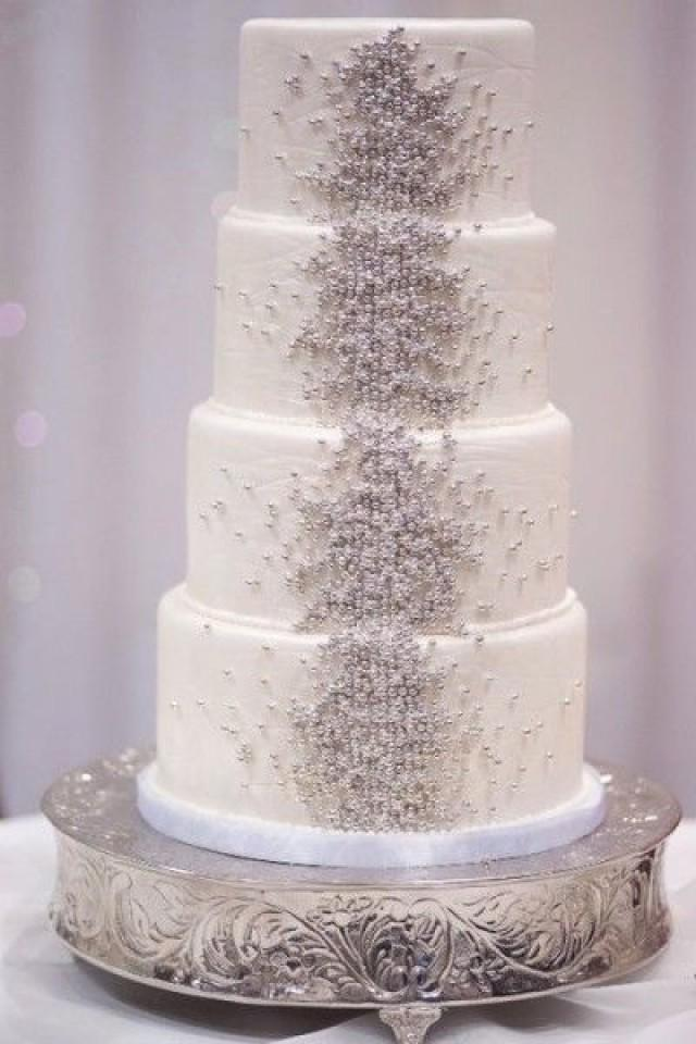 Gold Wedding - White & Gold Wedding Cakes #2075880 - Weddbook