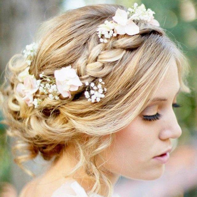 Wedding hairstyles weddings bridehair 2076014 weddbook junglespirit Images