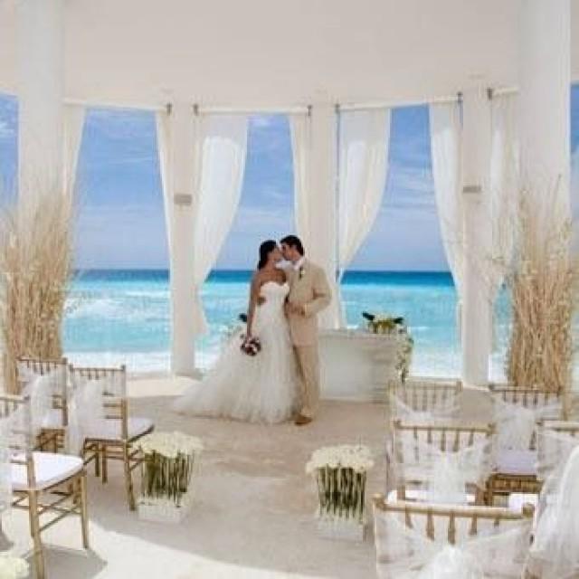 Mexico gazebo wedding
