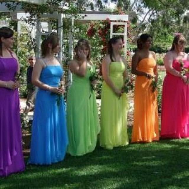 rainbow wedding rainbow themed wedding inspiration