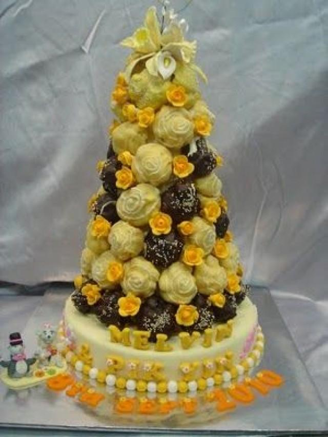 Wedding Cakes - Croquembouches:French Wedding Cake #2083169 - Weddbook