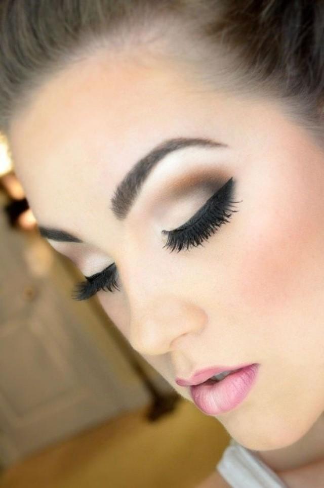 Eye wedding makeup