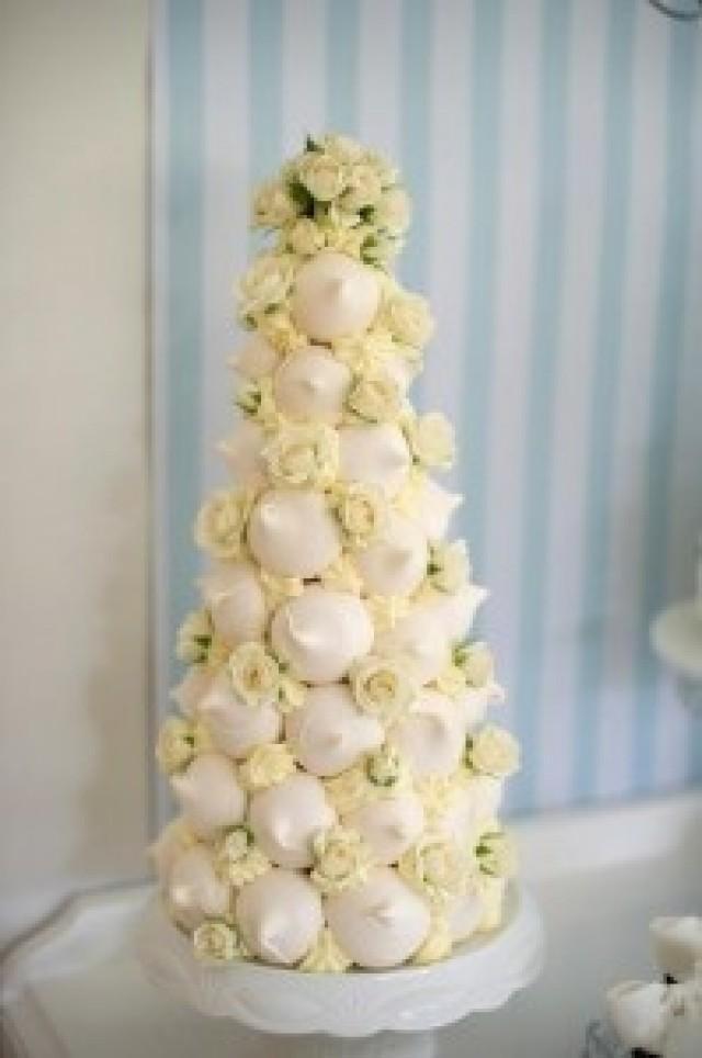 Wedding Cakes - Croquembouches:French Wedding Cake #2085362 - Weddbook