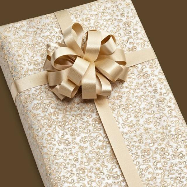 Wedding Gift Wrapping Ideas Images: Elegant Gift Wrapping #2087690