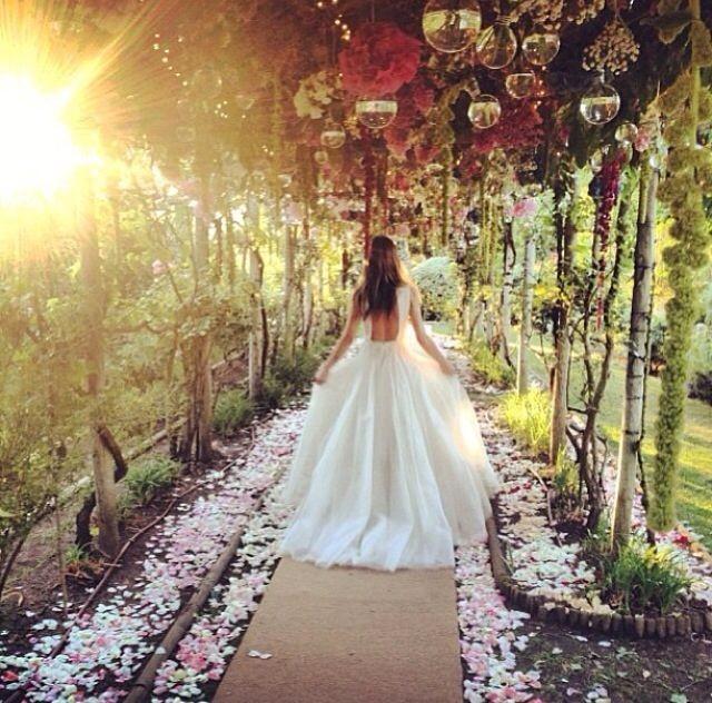 Enchanted Secret Garden Wedding