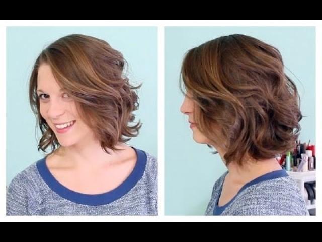 Wedding Hairstyles Soft Waves On Short Hair 2091429 Weddbook