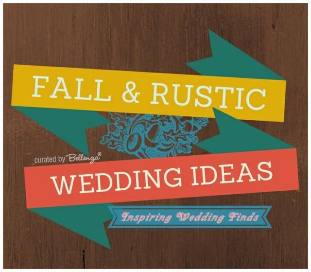 Rustic Fall Wedding Favor Ideas: FALL RUSTIC Wedding Ideas #2095555