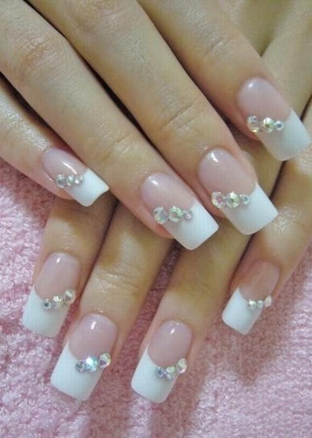Nail nails art de novias 2103858 weddbook - Decoracion unas para boda ...