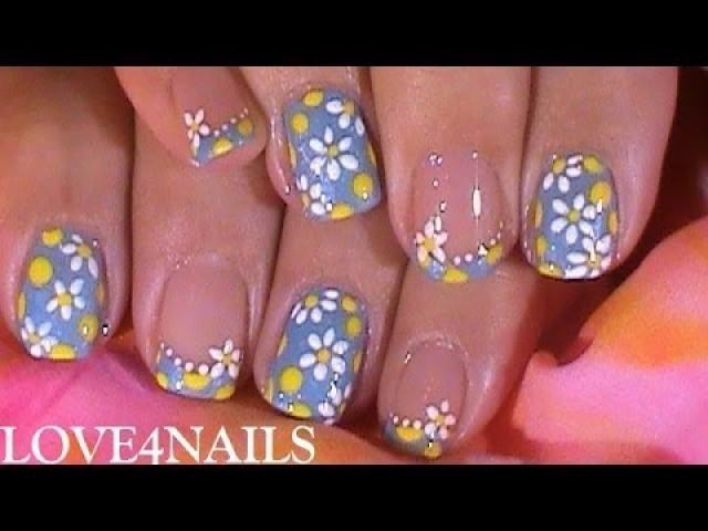 Schnell N Einfache Nail Art Design Tutorial Für Den Sommer