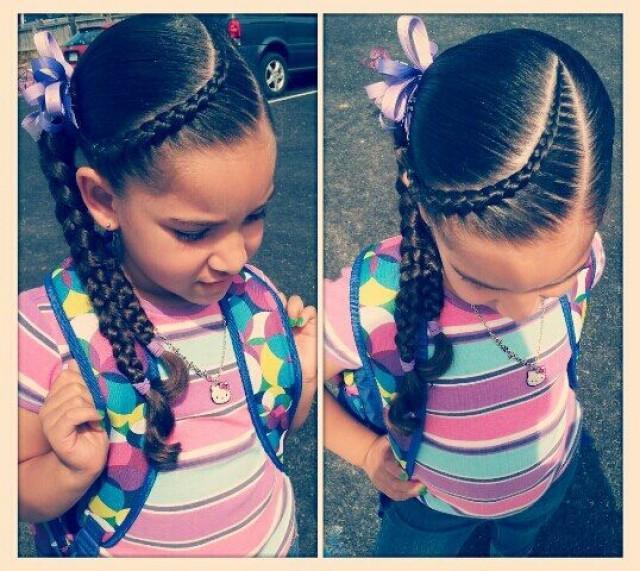 Косички для маленьких девочек на короткие волосы: интересные