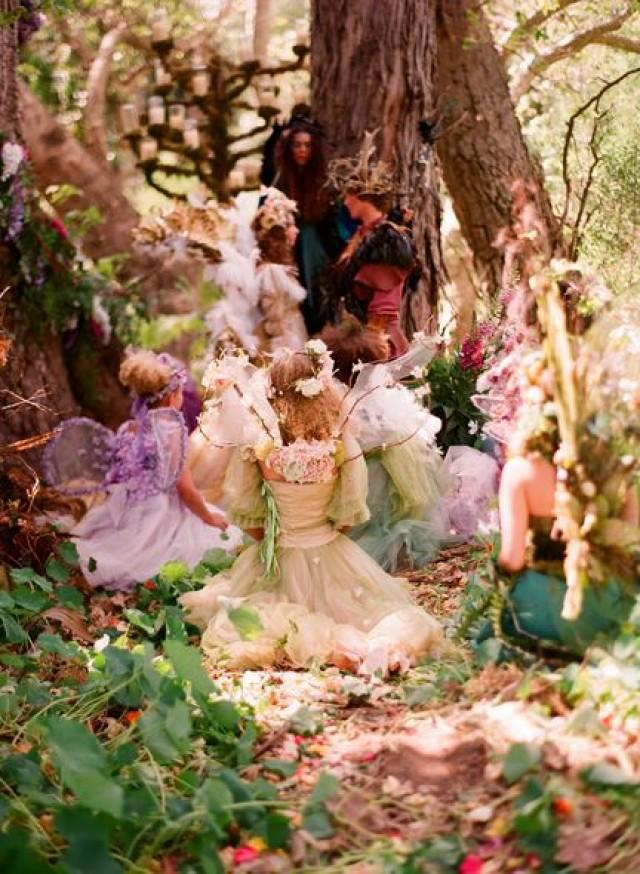 Fairy Wedding Fairytale Woodland Weddings 2123899