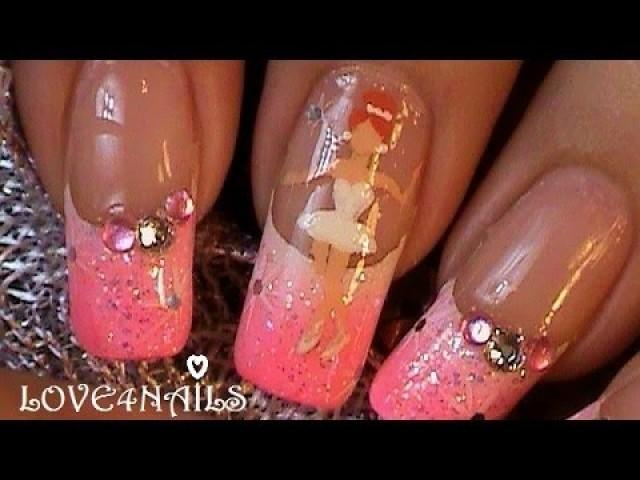 How To Paint A Ballerina On Your Nails Step By Step #2126197 - Weddbook