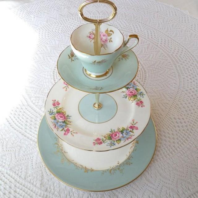 Plate Cake Stand Diy