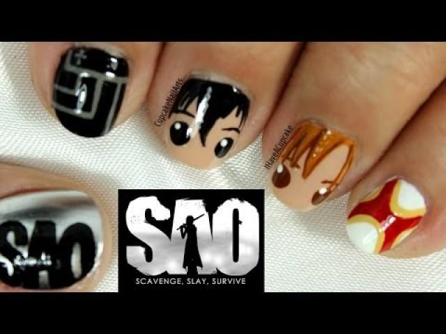Wedding Nail Designs - Sword Art Online Nail Art #2130024 - Weddbook