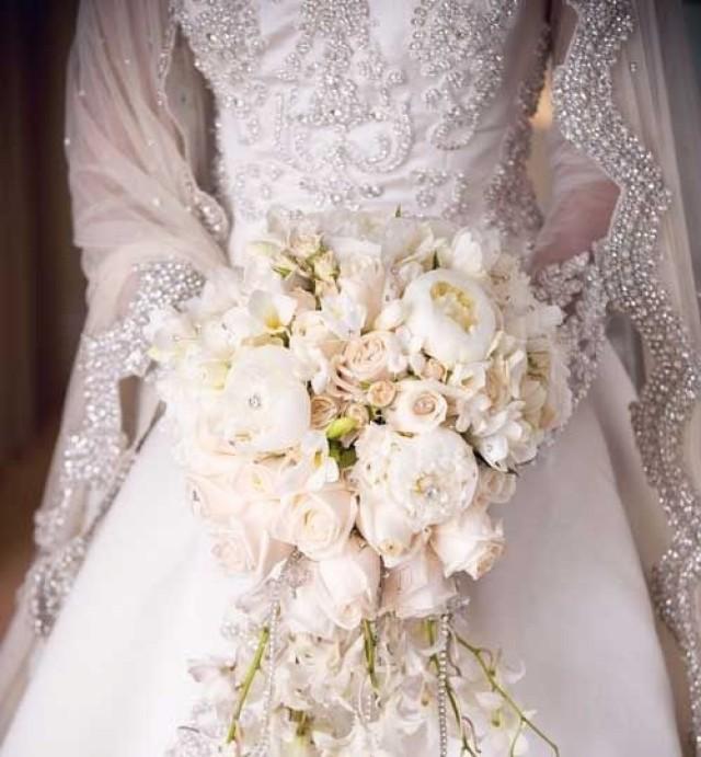 Фото свадебных платьев и букетов