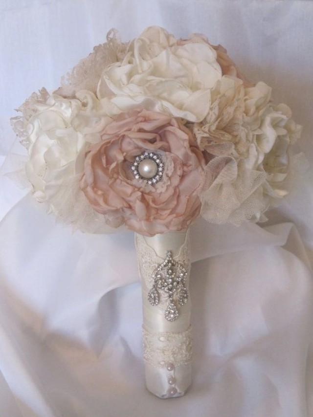 Винтажный букет невесты своими руками 78