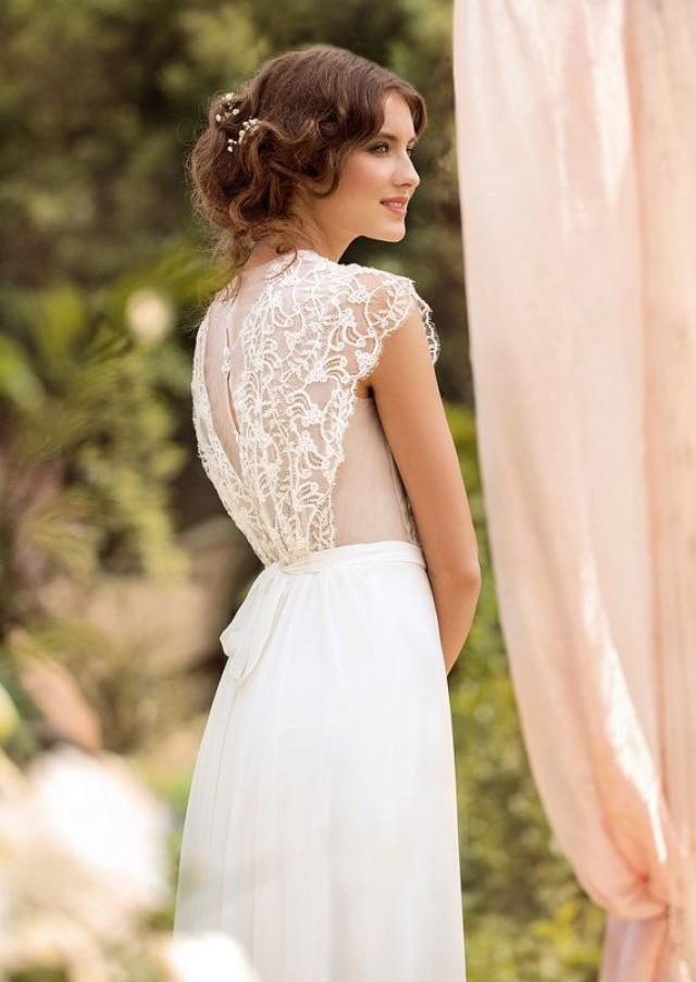 Robe de mari e de mariage de concepteur de robe de boh me for Concepteur de robe de mariage russe