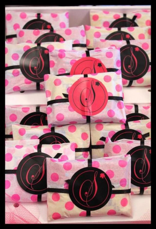 Bridal Shower Hot Pink And Black Birthday Party Ideas 2136035 Weddbook
