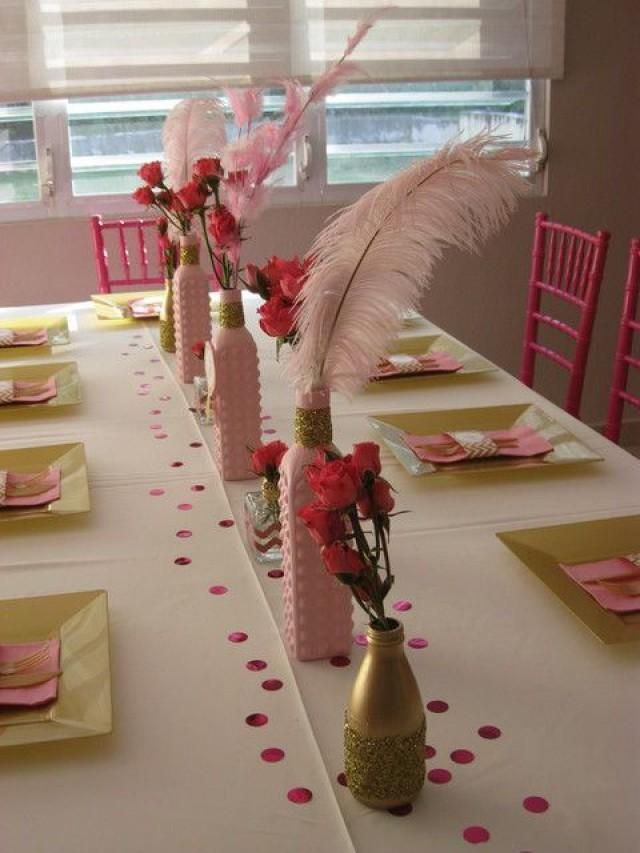 Pink Gold And Glitter Birthday Party Ideas 2138476