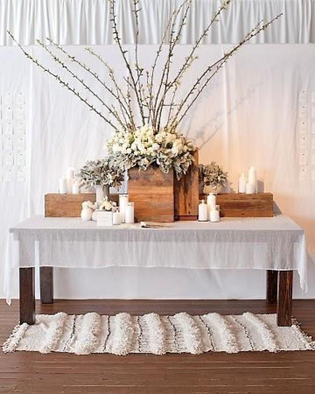 Ideas For Place Cards At A Wedding: Wedding Escort/Place Card Table