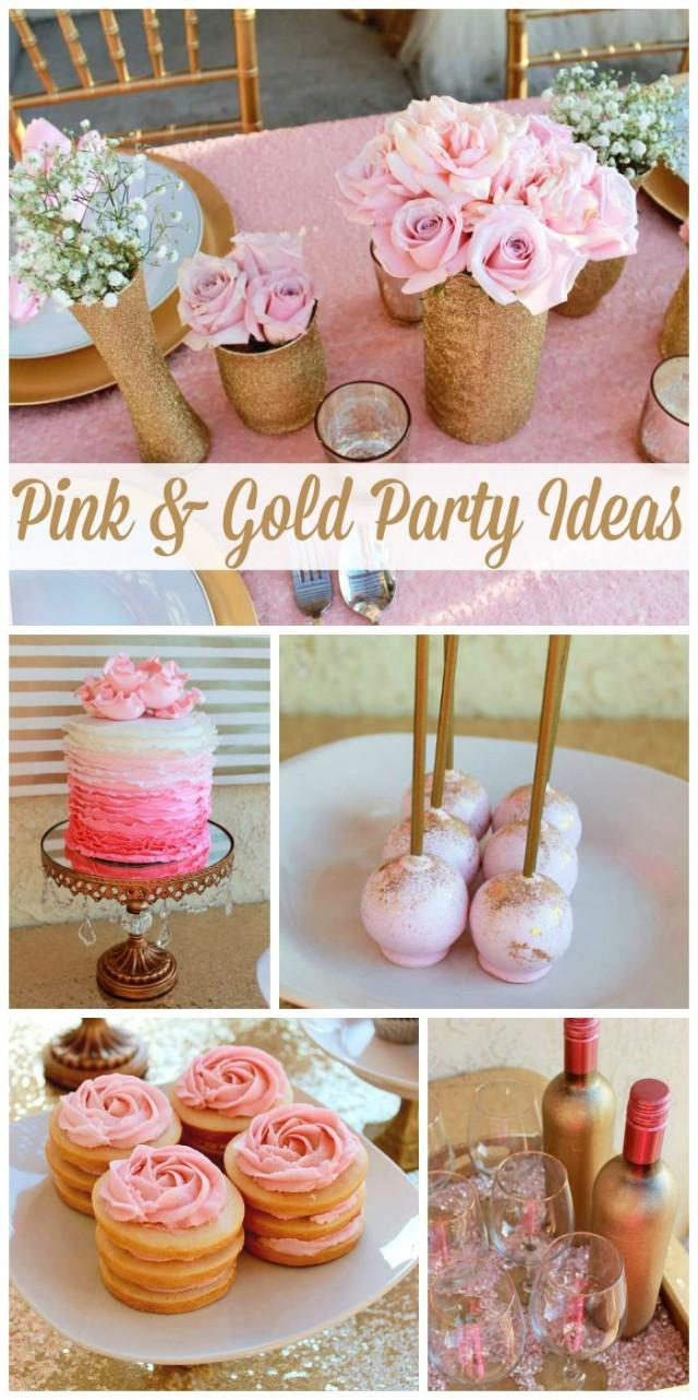 """Pink & Gold / Birthday """"All That Glitters Is Gold 29th"""