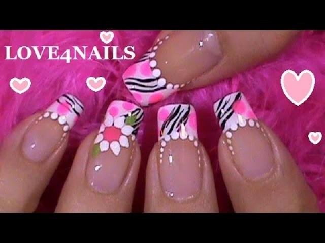 Clavo - Pink Spotted Zebra Nails! #2148823 - Weddbook