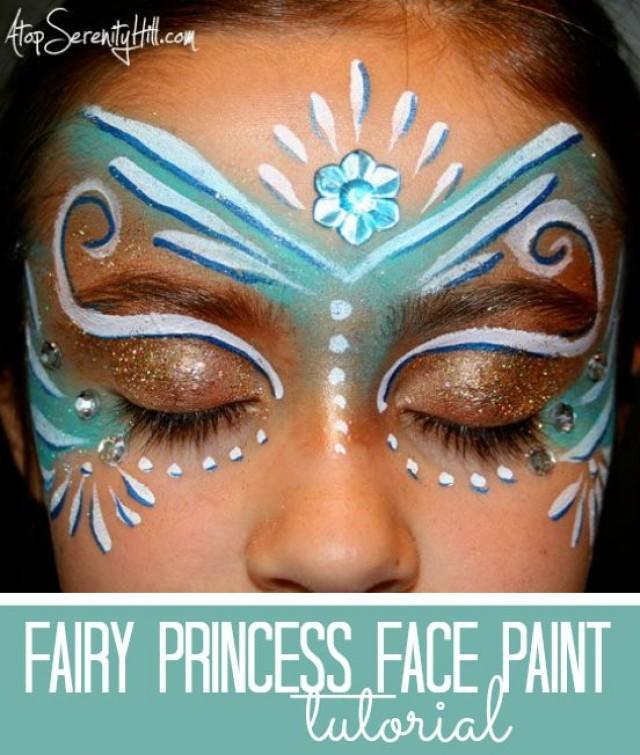 Face painter wedding