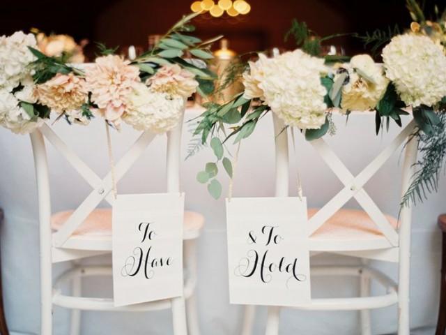 Decor wedding chairs bride groom 2150616 weddbook for Wedding day decoration ideas