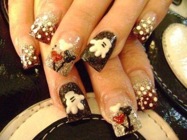 79 Wonderful Disney Nail Art Designs - CrossfitHPU