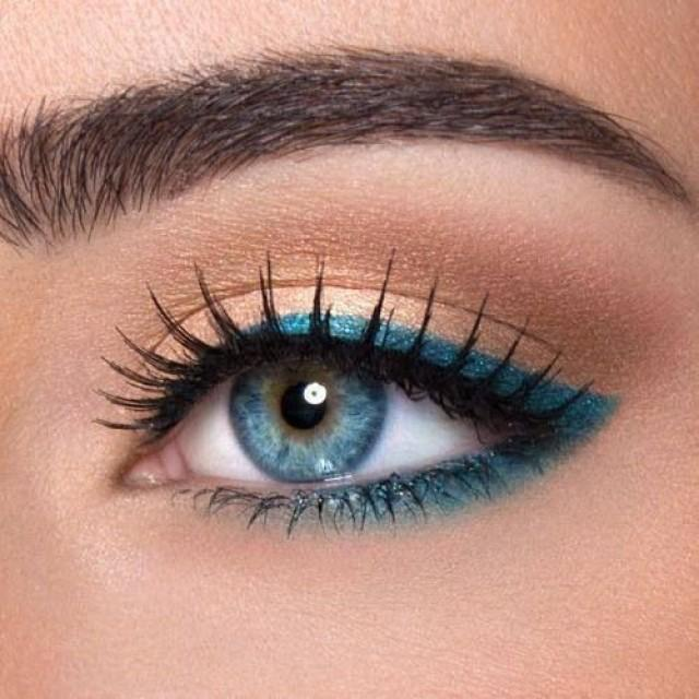 12 Easy Ideas For Prom Makeup For Blue Eyes 2167667 Weddbook