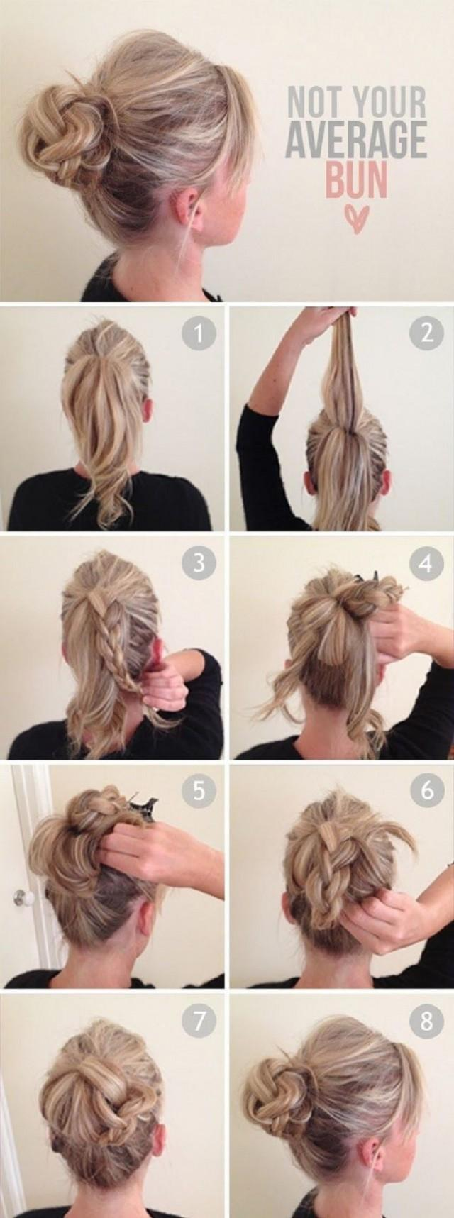 Hairstyles tumblr tutorial bun