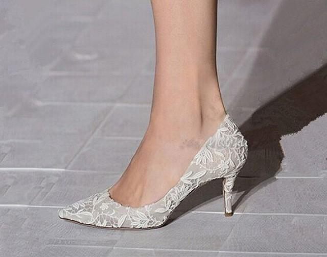 wedding shoes lace wedding shoes ivory lace wedding shoes