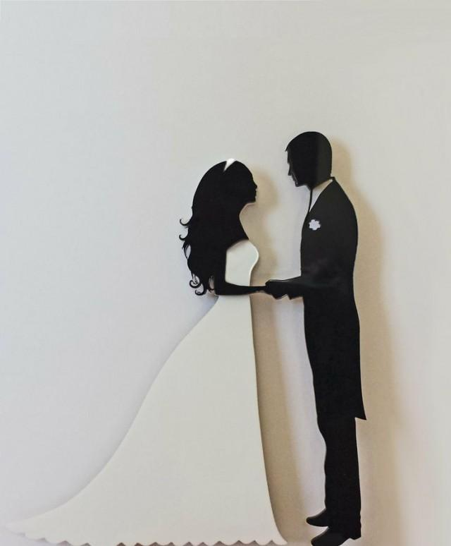 Farmer And Wife Wedding Cake Topper