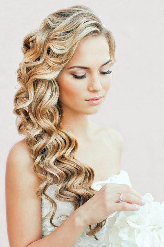 Прически с накрученными волосами на длинные волосы