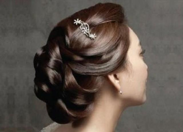 Hair Top Bridal Hairstyles For Reception Weddbook - Bun hairstyle for reception
