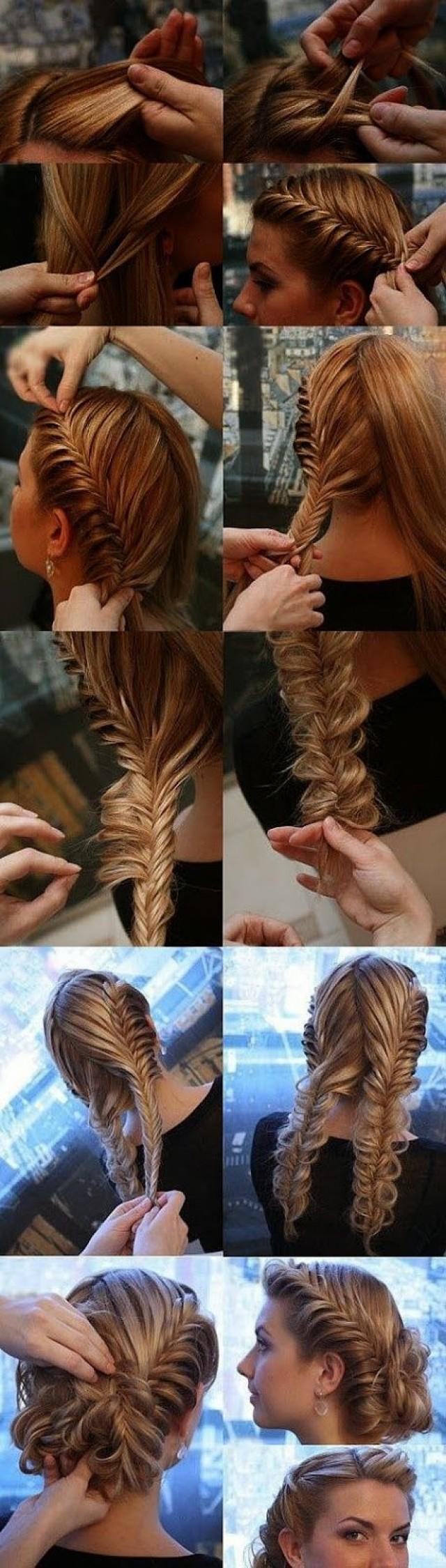 Причёски своими руками пошагово косы