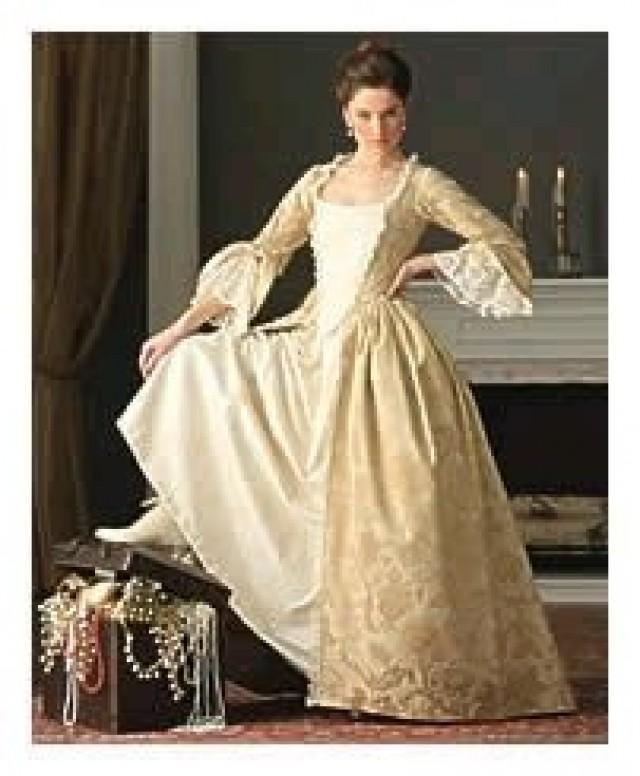 Bridesmaid Marie Antoinette Gown Elizabeth Swan Dress Colonial Dress ...