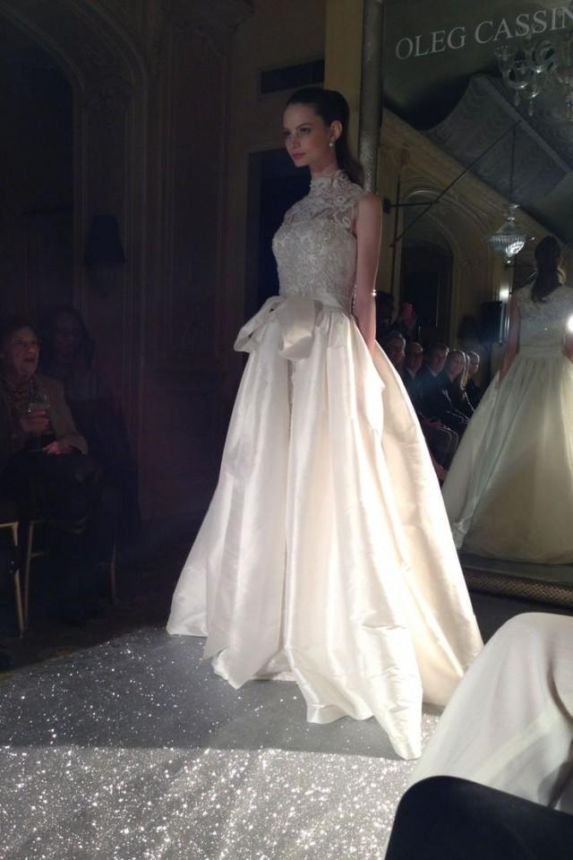 Oleg Cassini New York Bridal Market 2015 (BridesMagazine.co.uk ...