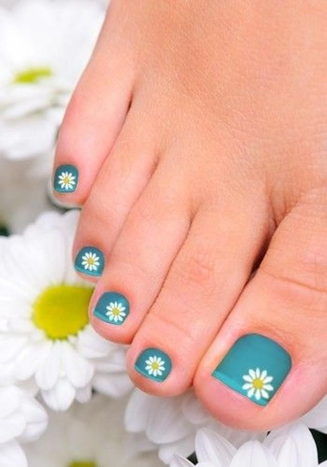 Nail - Cute And Easy Toenail Art Designs #2181297 - Weddbook