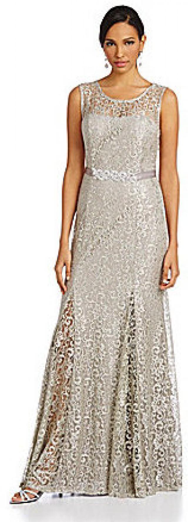 Lace Wedding - Betsy & Adam Beaded Lace Gown #2181817 - Weddbook
