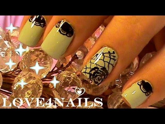 Hochzeits Nail Designs Easy Lace Pattern Nail Art 2184720 Weddbook