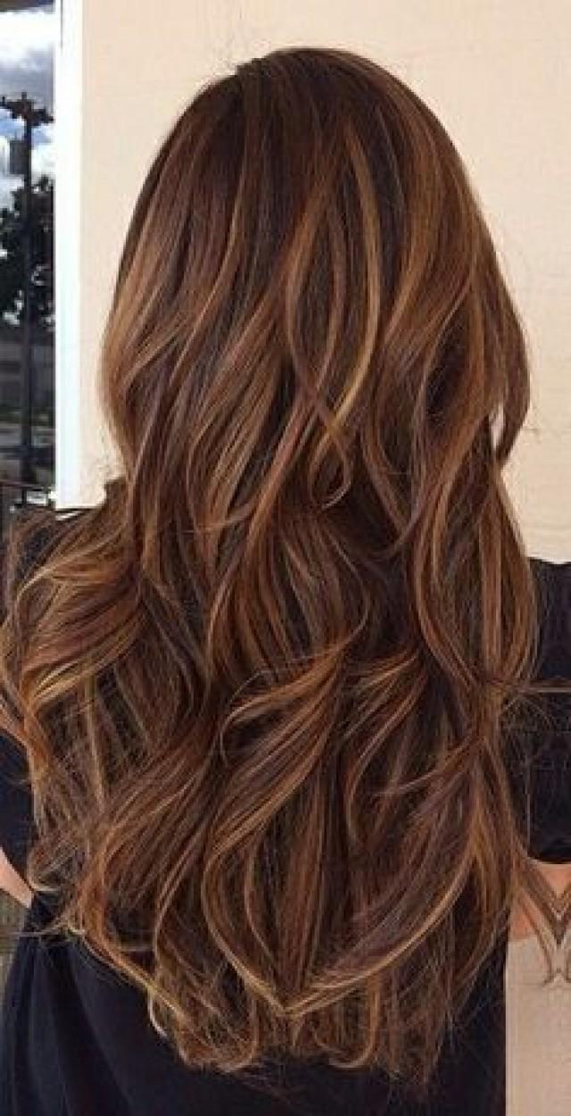 Wedding Hairstyles Hot Cocoa Brown Hair Color 2186545 Weddbook