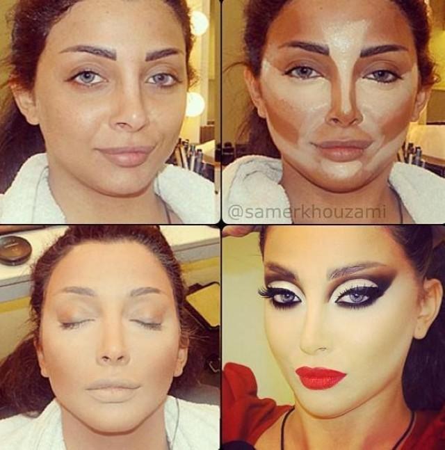 Красивый макияж что нужно