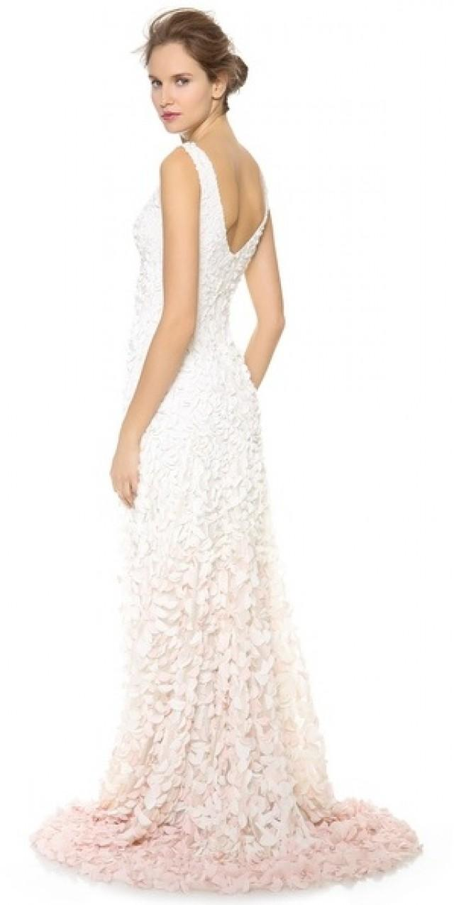 Accessories - Theia Emma Embroidered Petal Gown #2195642 - Weddbook