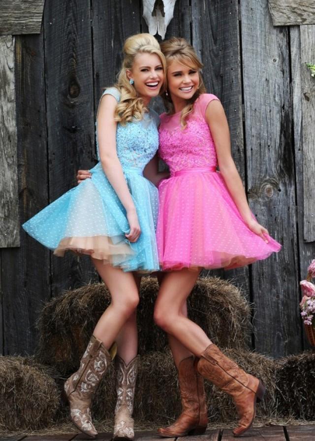 Sherri Hill 11267 Pink Nude Party Dress 2015 #2198665 - Weddbook