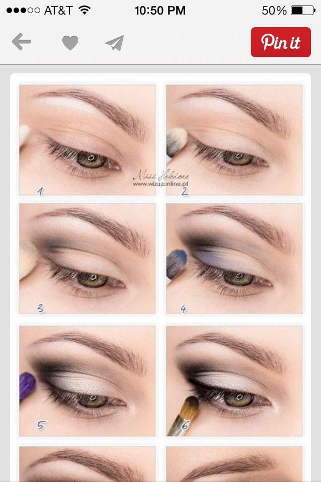 Easy way to do cat eye makeup